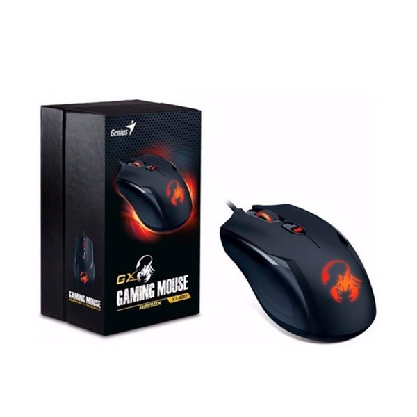 Mouse Gamer Genius GX Ammox X1 400 Tienda de tecnologia MyM Suministros Funza Cundinamarca,