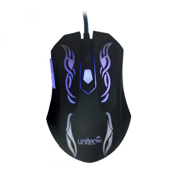 Mouse gamer Unitec U-M3 LED Tecnología, Mouse, Unitec, Gaming, Funza, Mosquera, Madrid, Bogotá, Cundinamarca, Sabana Occidente, Colombia