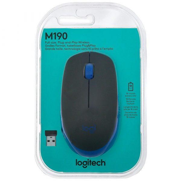 Mouse inalámbrico Logitech M190, Tienda de Tecnología, Funza, Mosquera, Madrid, Bogotá, Cundinamarca, Colombia.