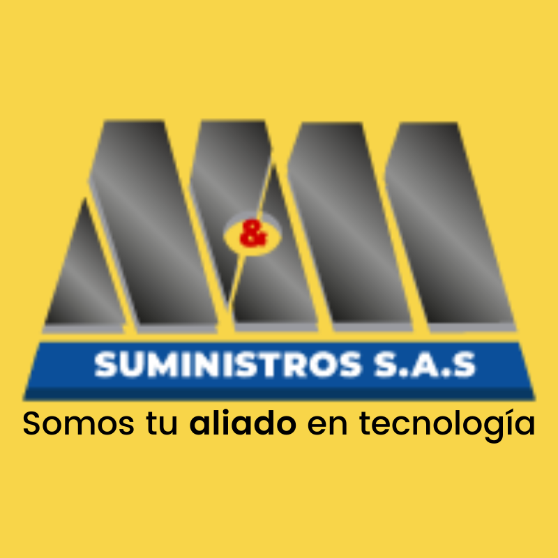 Logo M y M Suministros Tienda de Tecnología
